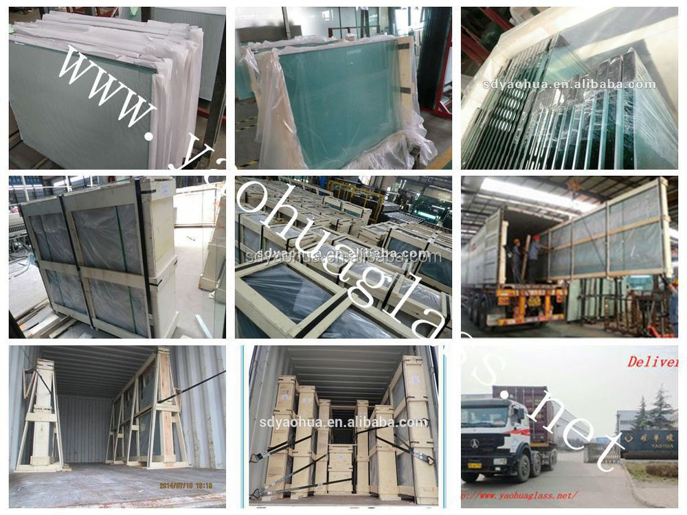 Hot sales high cost efficiency double glassing unit insulated glass