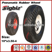 Small wheels and tires solid rubber wheel