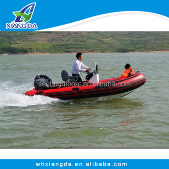 Pvc hypalon rib boat 480 for fishing inflatable rib boats for Inflatable fishing boats for sale