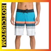mens/womens 4 way stretch board shorts polyester spandex, custom blank board shorts wholesale, couple beach shorts factory price