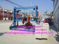 Double Blade Saw Electric Portable Sawmill Wood Flooring Machinery