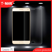 T-max new premium adsorpt automatically 9H 2.5D low price China mobile phone products tempered glass screen guard For Lenovo P1