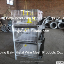 Multi-Tier Chicken Broiler Coop Cages With Layers (Poultry Farming Equipment)