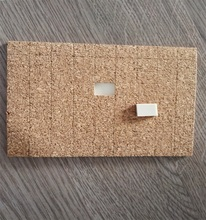 cork cling pads for glass