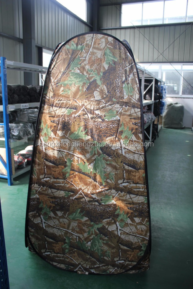 Hot Sale 1 Person Camouflage Dressing Tent,CZH-14B Easy Folding Changing Tent Portable Camping Shower Tent,Toilet Tent Bath Room