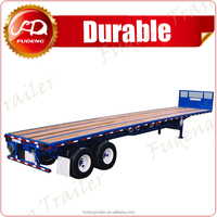 2016 new 40 foot flat bed trailer with 3 axles
