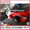 Inflatable racing car model, custom inflatable advertising models passed CE/EN14960