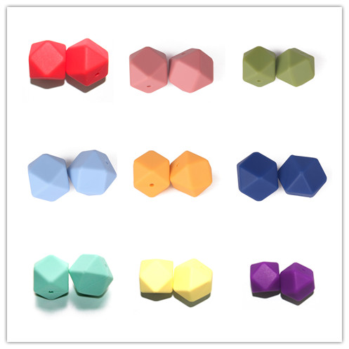 Wholesale Non-toxic 100% Food Grade Silicone Teething Beads Use for Necklace Designs