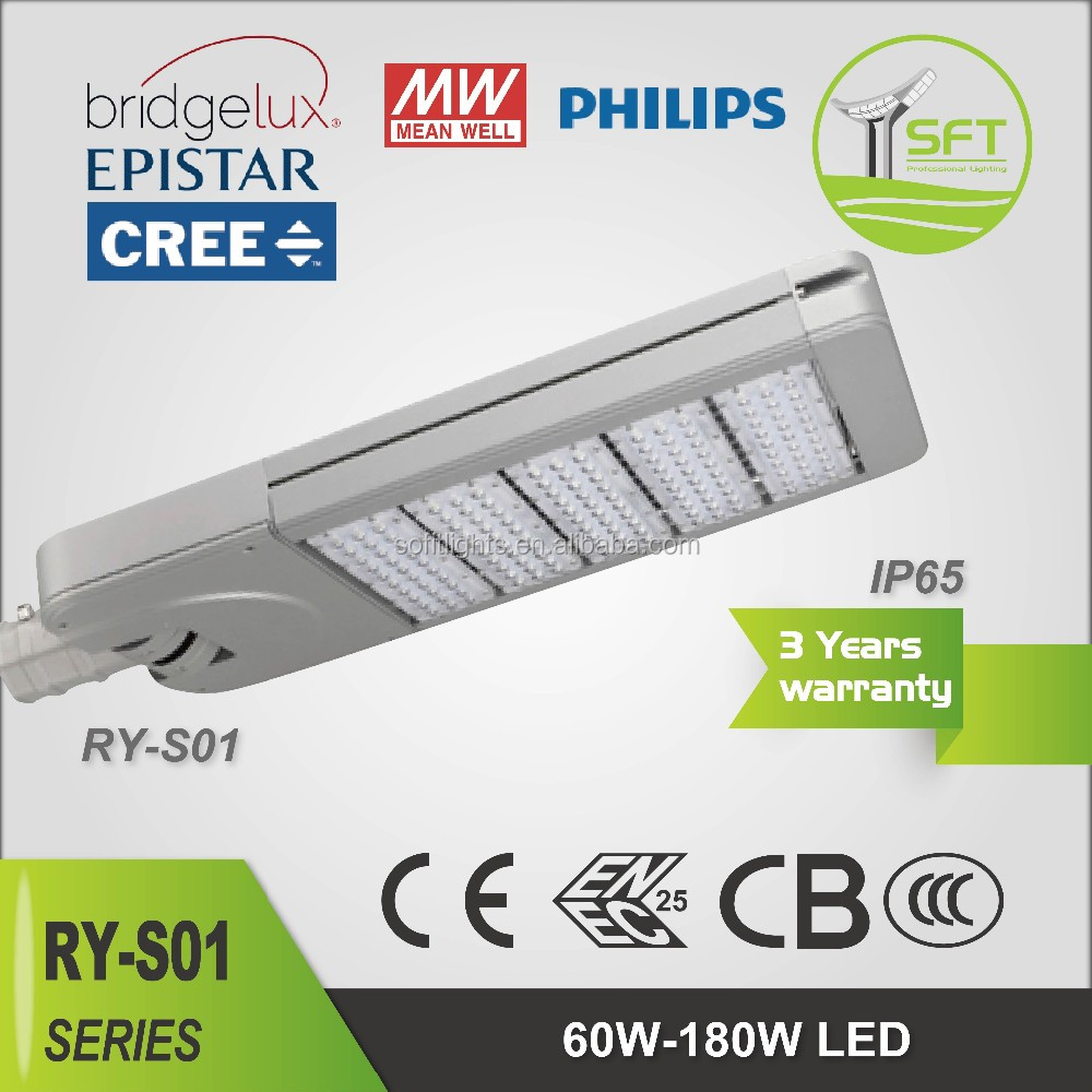 Reliable Quality High Strength Aluminium Alloy Shell 180w Led Streetlight