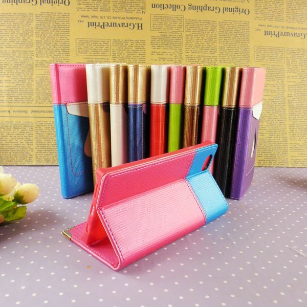 TPU+PU leather case for iphone 6 5 5s 4 4s phone shell protective mobile phone sleeve wholesale