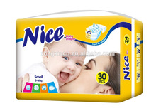 Sleepy Baby Nappies Disposable Baby Diapers Couche Bebe Exported to Africa Baby Diaper Manufacturers in China