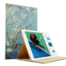 10 Patterns PU Leather Flip Case For iPad Air 1 Case Stand Tablet Case For Apple iPad 5 Cover