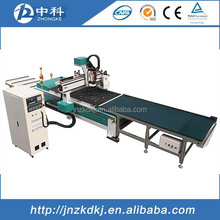 auto feeding table cabinets doors wood cnc engraving machine