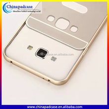 2016 most papular pc back metal bumper phone case cover for samsung galaxy j7 j5 a7 a8 hard case