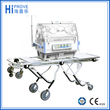 Baby transport incubator use AC Power and DC Power alternatively, Ambulance type