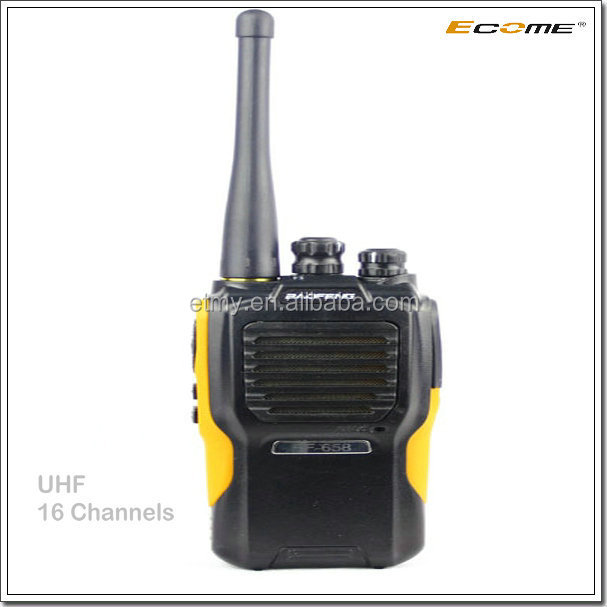 Agent of Baofeng UHF quality two way radio for Ecome walkie talkie BF-658