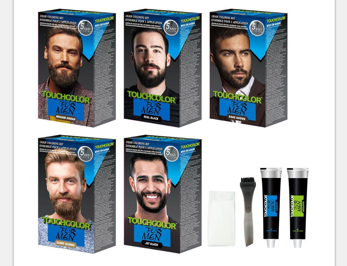 Jet black mens beard dye for men mustache, View best beard dye, TOUCHCOLOR  Product Details from Huzhou Mino Daily Chemicals Co., Ltd. on Alibaba.com
