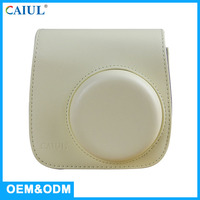 CAIUL Manufactory Beige PU Leather Women Fashion Bag For Mini 8 / 8+ Instant Camera