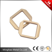 Good quality metal strap bag clip buckle , metal bag buckle parts