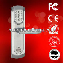 HUNE keypad code waterproof metal cabinet lock