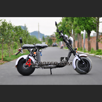 EEC citycoco motorcycle 2 wheel electric scooter