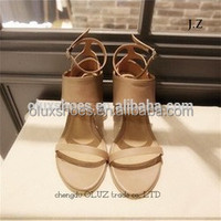 OS11 made in china women Pretty Steps high heel cross strap sandals