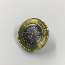 engraving coin blanks