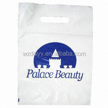 Recycled Shopping/HDPE Organ Plastic Handle Bag, Suitable for Clothing or Gift Packaging