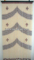 2013 Latest Design Decorative Wooden Beaded Curtain Patterns