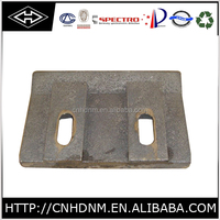 concrete mixer scraper, mixer spare parts for Liebherr mixing machine