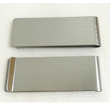 Metal printing glue carved metal stainless steel wallet wallet made money clip Money clip wallet man