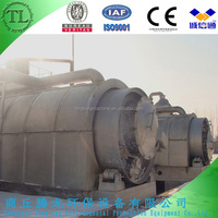 Newest generation waste tyre pyrolysis recycling machine