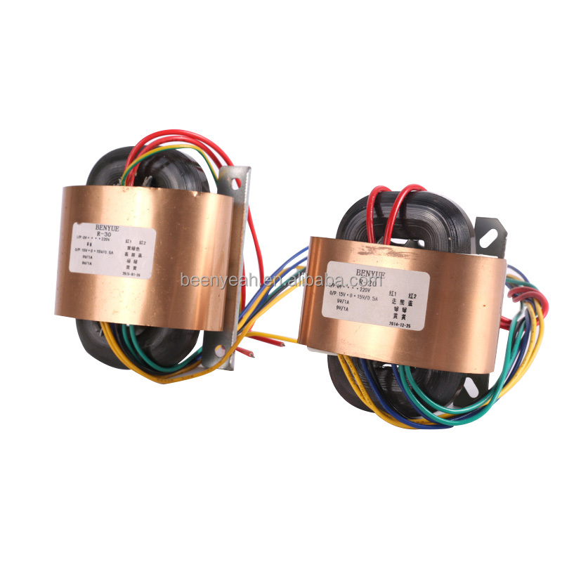 High-frenquency power Control r core transformer for sale