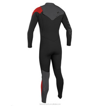 New Highline Performance 4/3mm Fullsuit YKK Zipper Scuba Diving Surfing Clothing Men Wetsuit