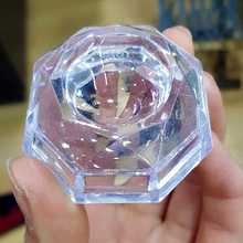 Round Plastic Crystal Ball Base Crystal Ball Stand