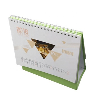 Promotional custom fancy office desk 365 day calendar
