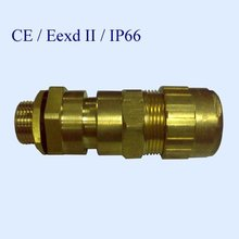EXP Type brass explosive flame proof cable gland M20S M20 M25 for armoured cable