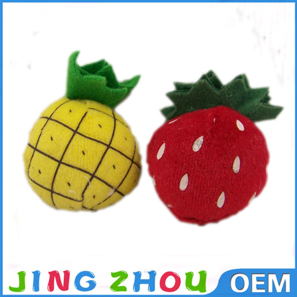 Stuffed Fruit Toy Pineapple shape Vegetable and Fruits doll toys for sale