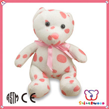 ICTI Factory wholesale customized size DIY cute north pole white teddy bear