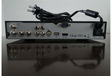 SD fta digital satellite receiver big size with low price