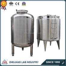 1000l sanitary stainless steel storage tank for liquid(CE approved)
