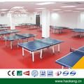 SGS CE Qualified PVC Sports Floor Roll Indoor Vinyl Flooring for Table Tennis Competition Multifunction 6mm Thick