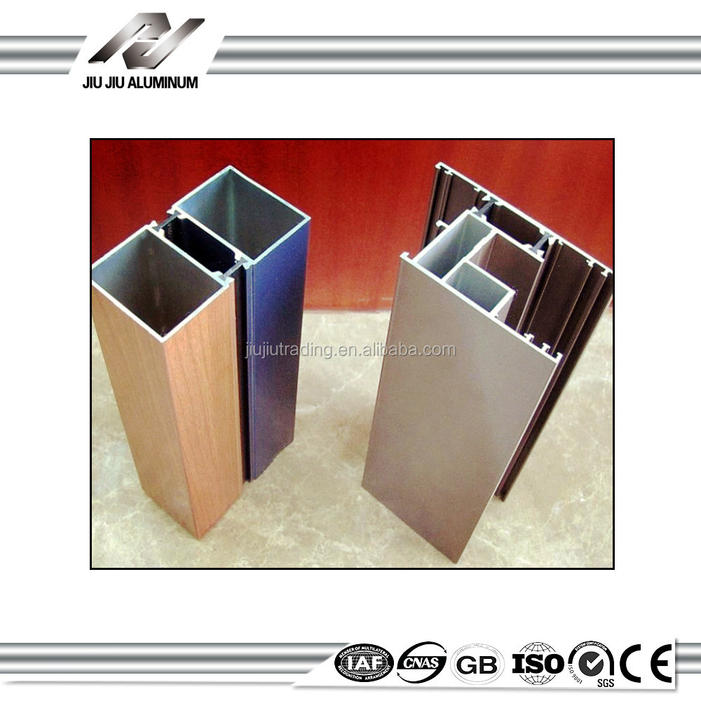 different of sizes and weight extruded aluminium for window sections