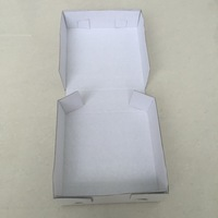 Healthful white paper food box ,paper cake box