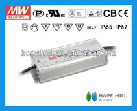 MEANWELL HLG-320H-12 LED Driver 320W 12V single output constant voltage with PFC 1~10V PWM dimming UL/CB/CE