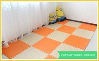 Colorful EVA foam sport floor mat outdoor and indoor