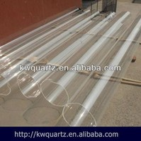 clear high purity silicon quartz tube,borosilicate glass tube