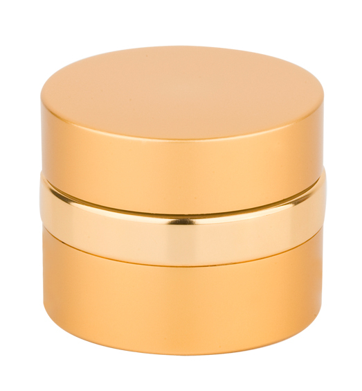 round cosmetic aluminum cream jar,empty jar