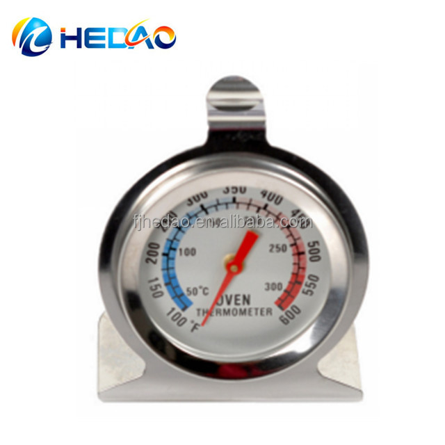 Kitchen Food Meat High Heat Large Dial Stainless Steel oven thermometer