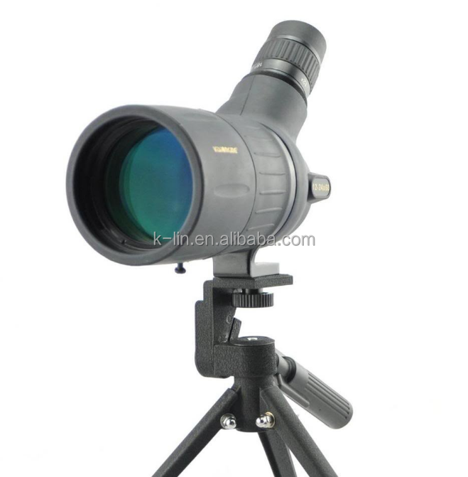 Visionking <strong>12</strong>-24x60 Bak4 Zoom Spotting Scope For Birdwatching Shooting Spotting Scope With Accu-Grip Handheld Tripod Telescopes